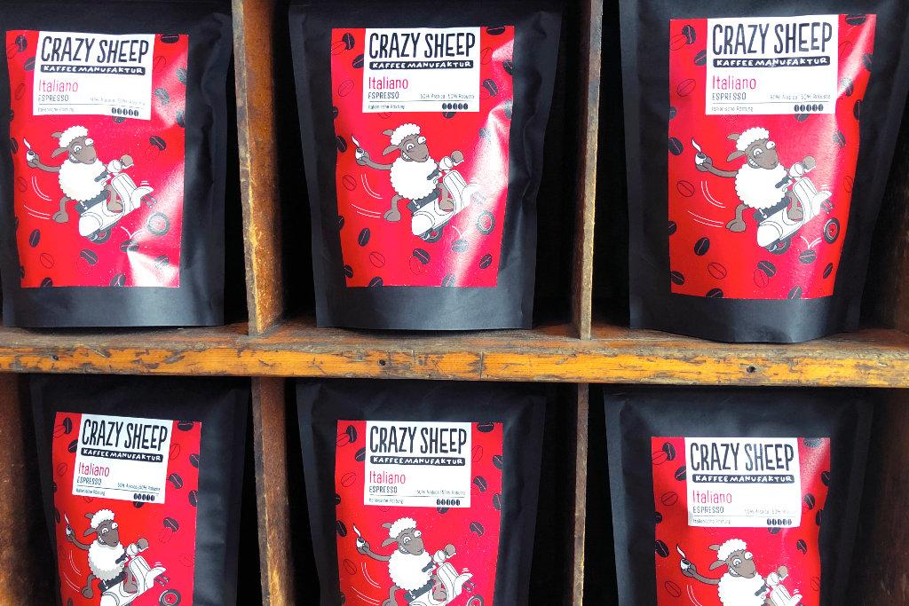 Kaffee in Packungen