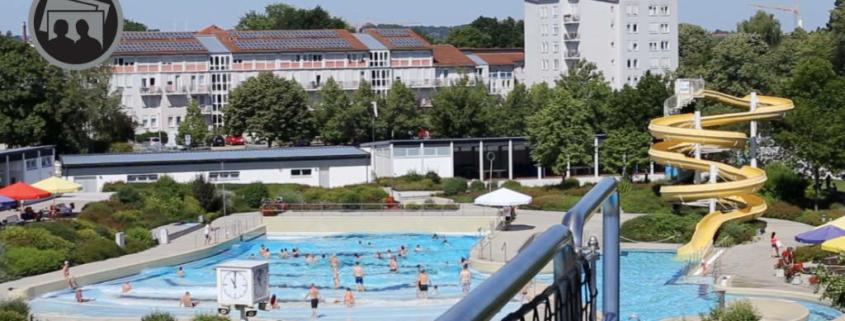 Trotz Corona-Einschränkungen gehen viele Menschen wieder ins Freibad. Foto: Stadtwerke Bayreuth