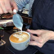 Cappuccino Art bei Crazy Sheep in Bayreuth
