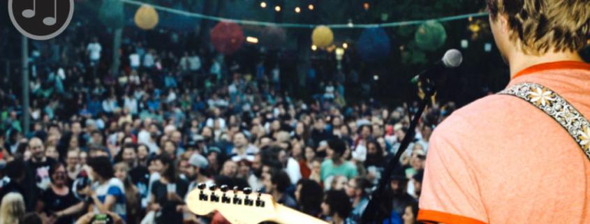 waldstock festival, Blick ins Publikum