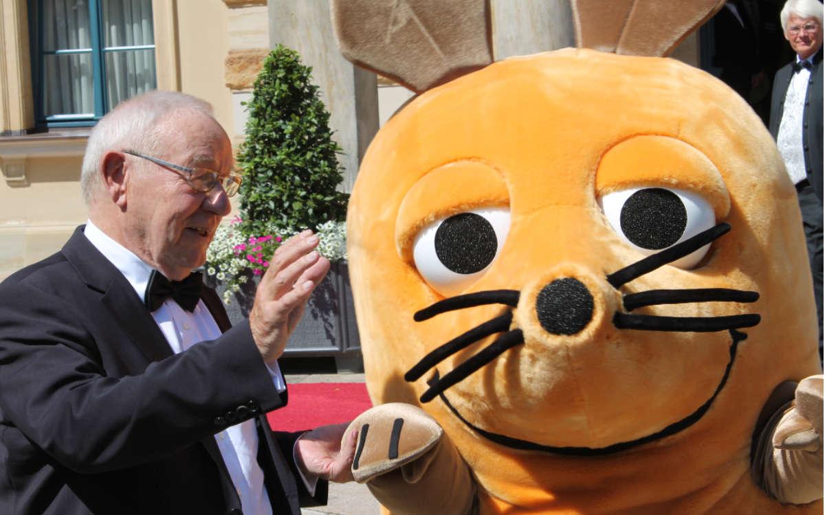 Roter Teppich bei den Bayreuther Festspielen 2019: Die Maus war zu Besuch. Archivfoto: Thorsten Gütling