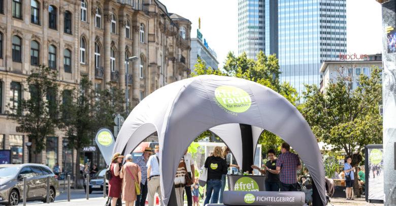 Zelt freiraumfürmacher in Frankfurt