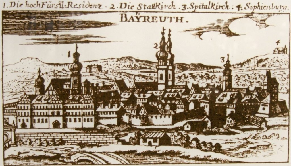 Bayreuth mit Sophienberg,