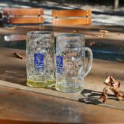 Der Verein zum Erhalt der Bayerischen Wirtshauskultur läuft gegen die nächtliche Ausgangssperre im harten Corona-Lockdown Sturm. Symbolbild: