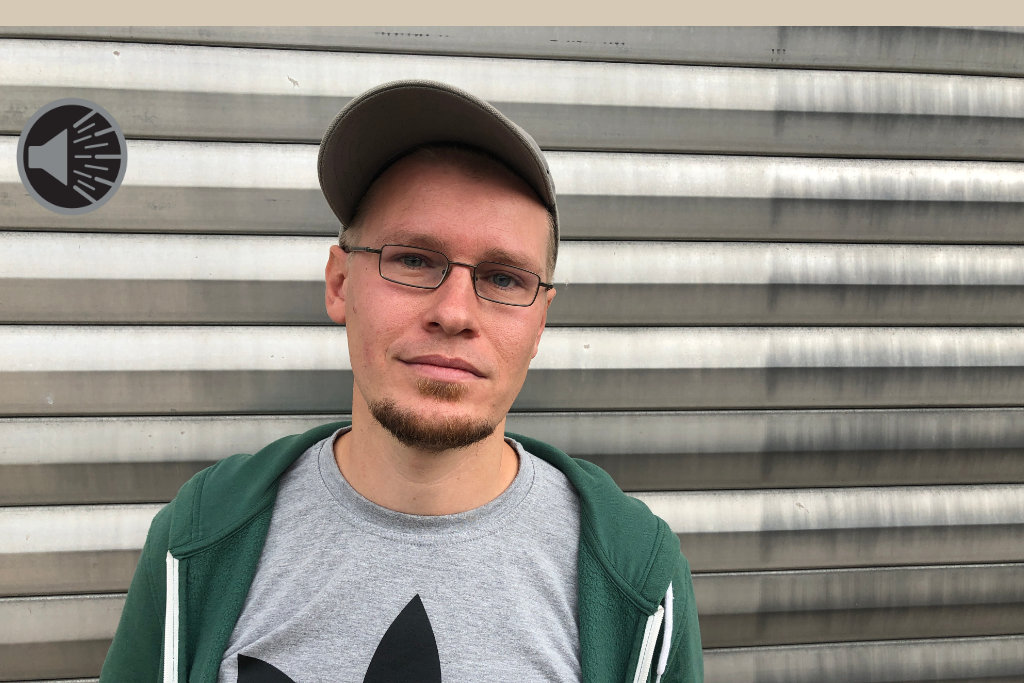 Rapper Zac. Foto: Frederik Eichstädt.