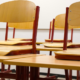 Schulbänke-Klassenzimmer