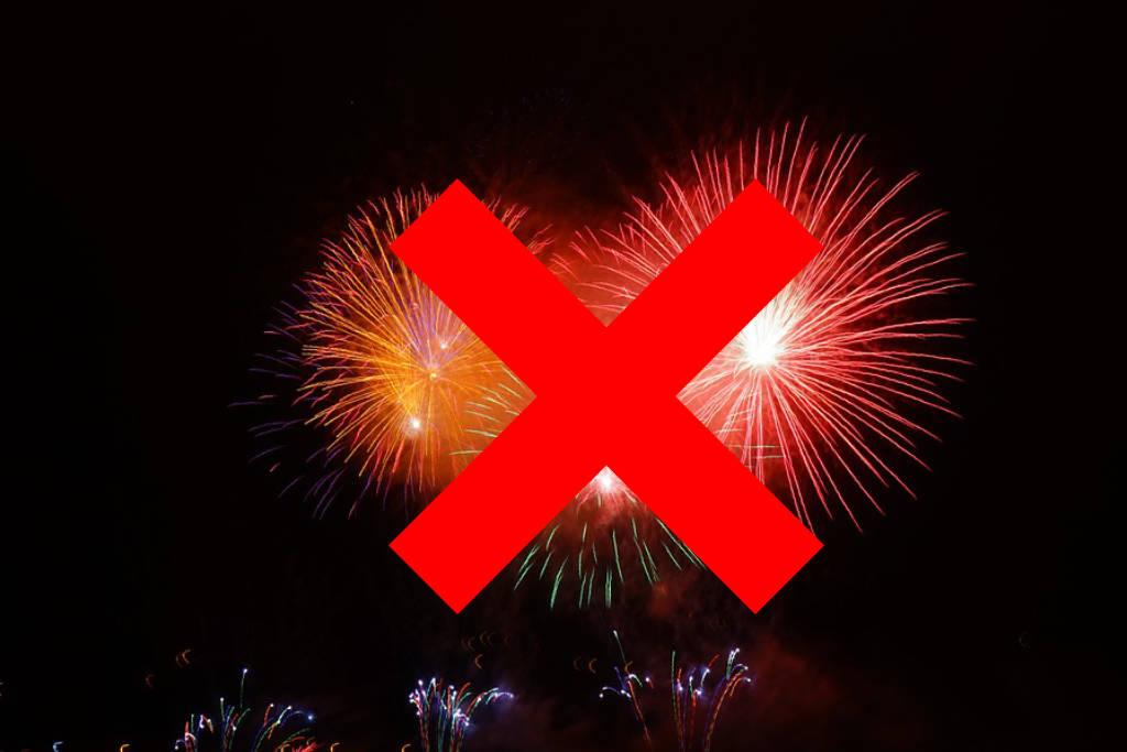 Kein Feuerwerk