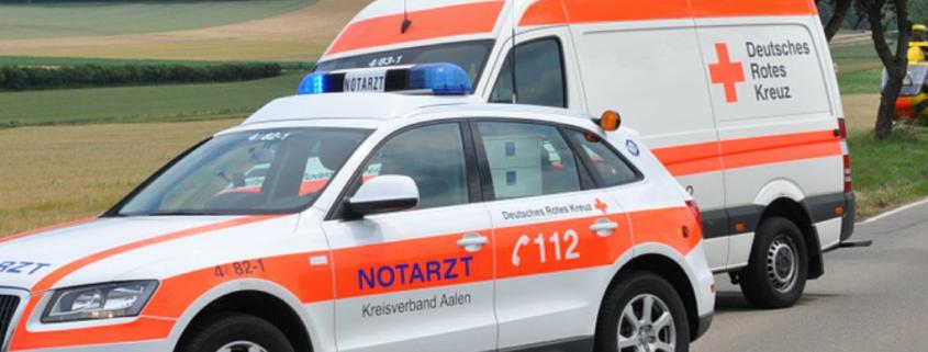 Unfall auf der A 70 bei Harsdorf im Kreis Bayreuth