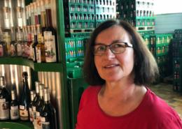 Lina Pühl, Industriemeisterin für Fruchtsaft und Getränke. Foto: Christoph Scholz.