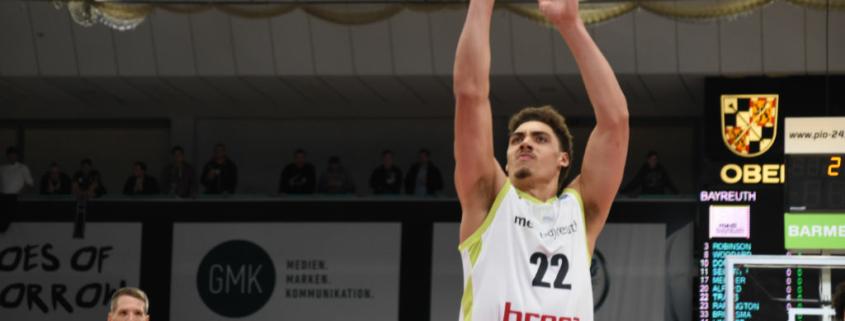 Reid Travis verlässt medi bayreuth. Archivfoto: Christoph Wiedemann
