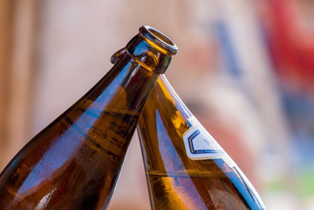 In Selb haben Einbrecher während der Tat Bier getrunken