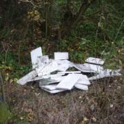 Die Polizei hat Müll gefunden