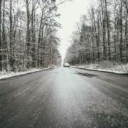 Schnee in Bayreuth
