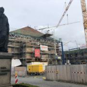 Das hat sich auf der Baustelle des Friedrichforums getan.