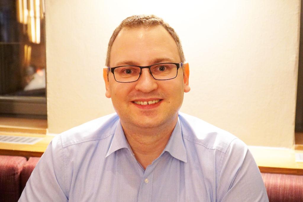 Stefan Schuh ist OB-Kandidat des Jungen Bayreuth. Foto: Carolin Richter