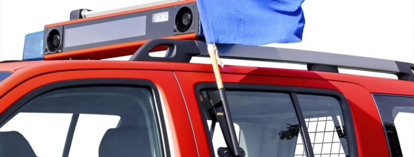 Am Freitag fahren vieleEinsatzfahrzeuge durch den Landkreis Bayreuth