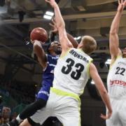 medi Bayreuth ist im FIBA Europe Cup Tabellenführer. Symbolfoto: Christoph Wiedemann