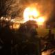 Ein landwirtschaftlicher Hof in Gottfriedsreuth stand in Flammen.