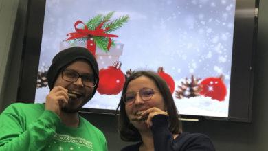 Weihnachten in der Bayreuther Redaktion.