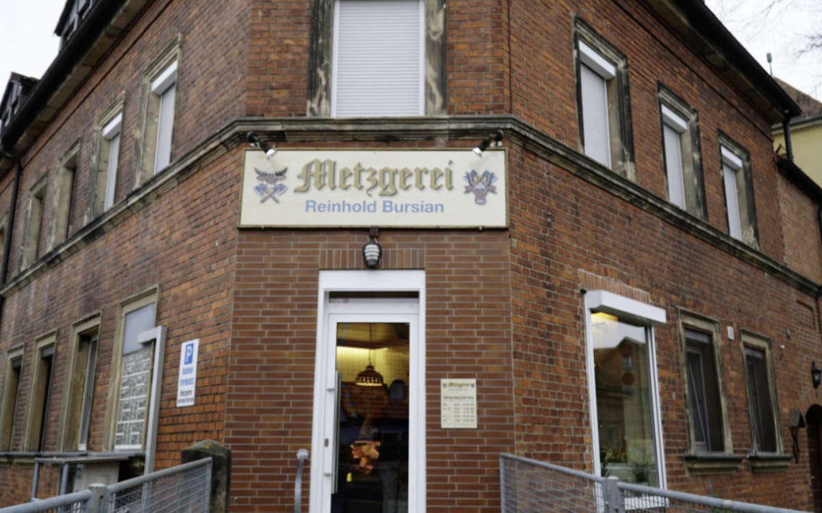 Die Metzgerei Bursian in Bayreuth. Archivfoto: Redaktion