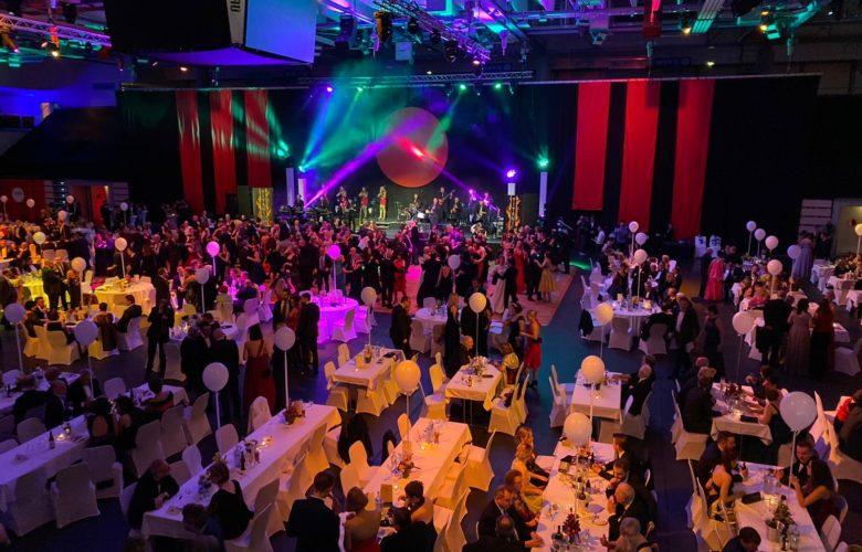 So sieht es auf dem Ball der Stadt Bayreuth aus.