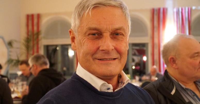 Armin Veh bei der SpVgg Bayreuth. Foto: Katharina Adler