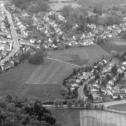 Luftaufnahme vom Stadtteil Glocke 1999. Archivfoto: Stephan Müller