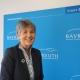 Oberbürgermeisterin Brigitte Merk-Erbe bei der Jahrespressekonferenz. Foto: Katharina Adler.