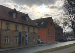 Bayreuths Stadtteil Moritzhöfen mit dem Wilhelm-Leuschner-Geburtshaus. Foto: Susanne Monz