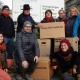 Mit Elena Michel, Sebastian Norck und Franziska Falterer (vordere Reihe, v.l.) hoffen die Unterstützer des Zukunftsquartiers Kreuz auf baldige Umsetzung ihres Konzepts. Foto: Elena Michel