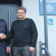 Christian Otto hat der Polizei Pegnitz geholfen. Foto: Polizei
