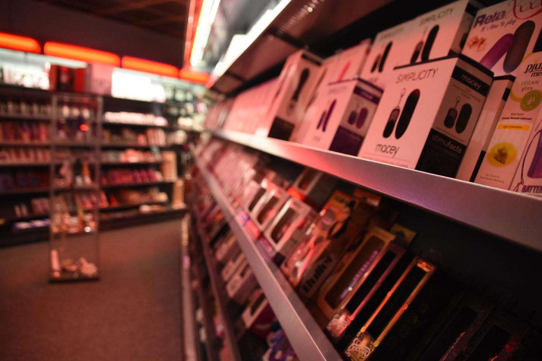 Erotik-Shop in Himmelkron. Foto: Christoph Wiedemann