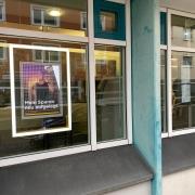 In einer Bank in Weidenberg wurde ein Geldautomat gesprengt. Foto: Oliver Riess