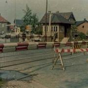 Bahnübergang Dürschnitz. Foto: Archiv Bernd Mayer.