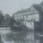 Die Herzogmühle um 1900. Foto: Archiv Bernd Mayer.