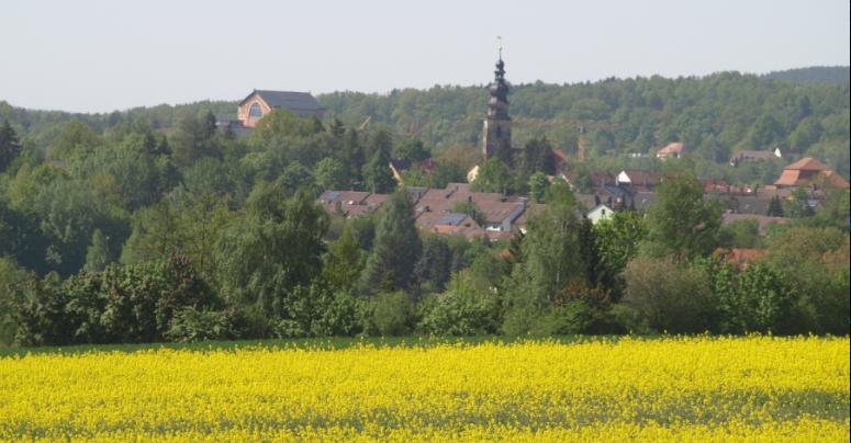 St. Georgen und das Festspielhaus. Foto: Stephan Müller.