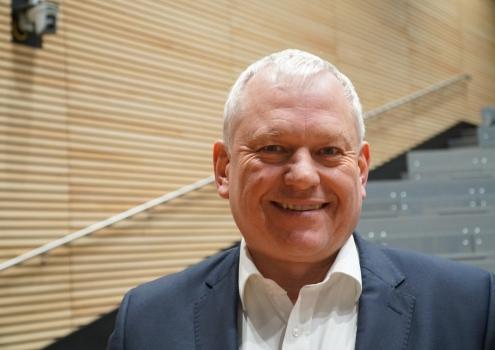 Thomas Hacker ist der Kandidat für die Oberbürgermeisterwahl der FDP. Foto: Katharina Adler