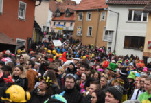 Faschingsumzug in Hollfeld im Landkreis Bayreuth
