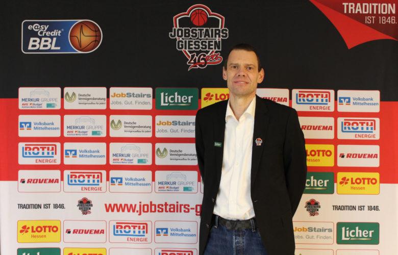 Der ehemalige medi bayreuth Coach Michael Koch ist wieder in der BBL. Er wird Geschäftsführer bei den JobStairs Giessen 46ers. Foto: JobStairs Giessen 46ers