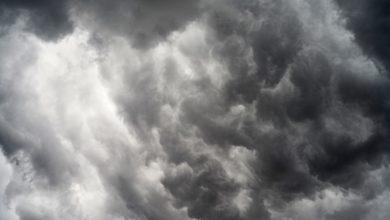 Unwetter über Bayreuth: Warnung vor Sturmböen. Symbolbild: pixabay