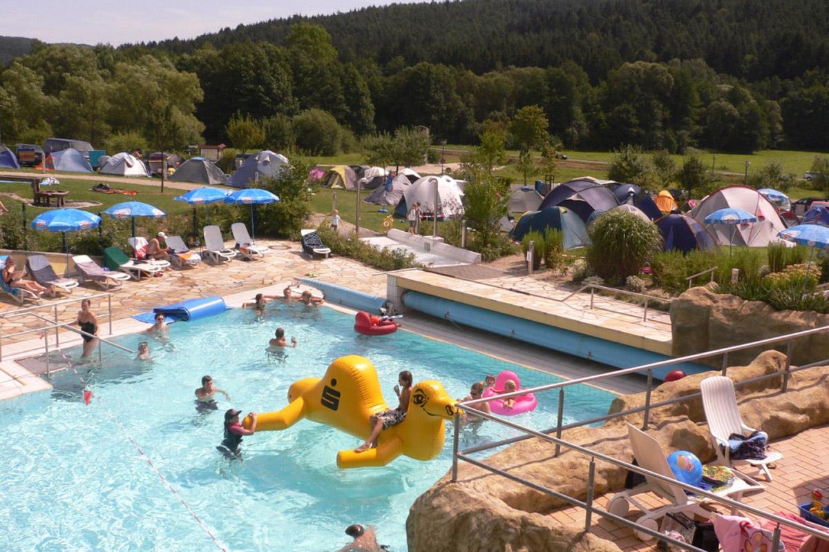 Therme Obernsees - Zeltlager