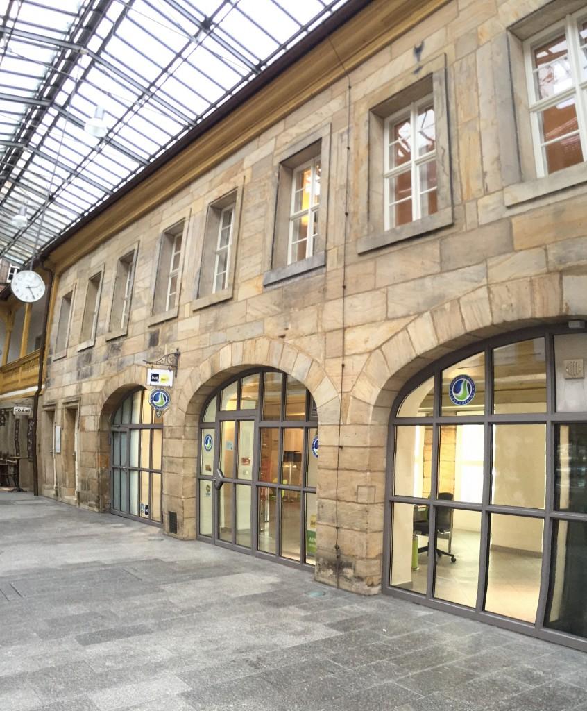 Das Büro von Hofmann Immobilien Bayreuth