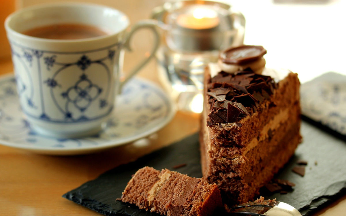 Kuchen zum Kaffee. Symbolfoto: pixabay