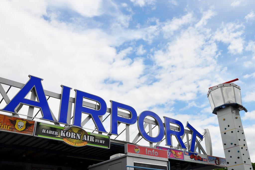 Vergnügungsparcours Airport
