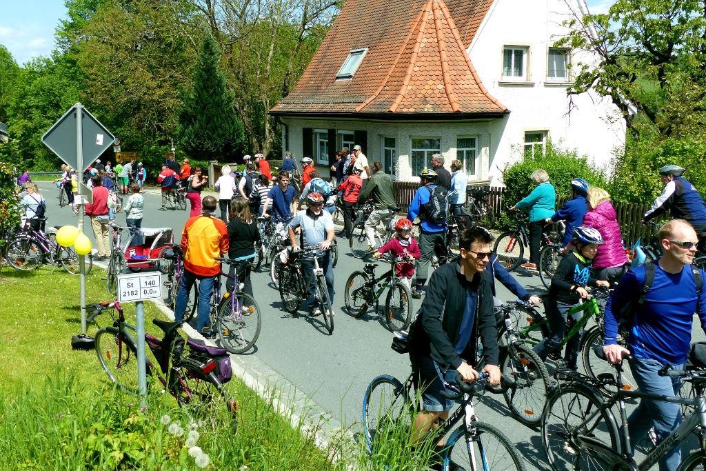 Radfahrer - Autofreier Sonntag