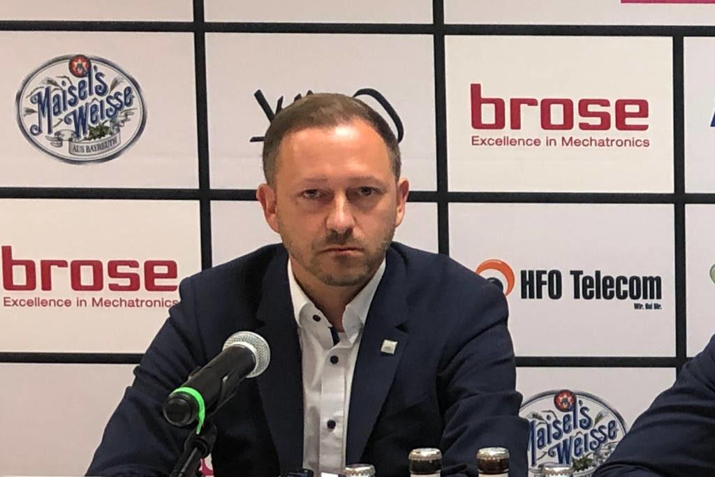 Björn Albrecht, Geschäftsführer von medi bayreuth. Archiv: Redaktion.