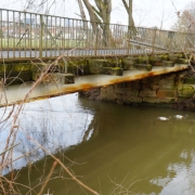 Die Brücken auf der Steinachstraße müssen erneuert werden. Foto: Katharina Adler