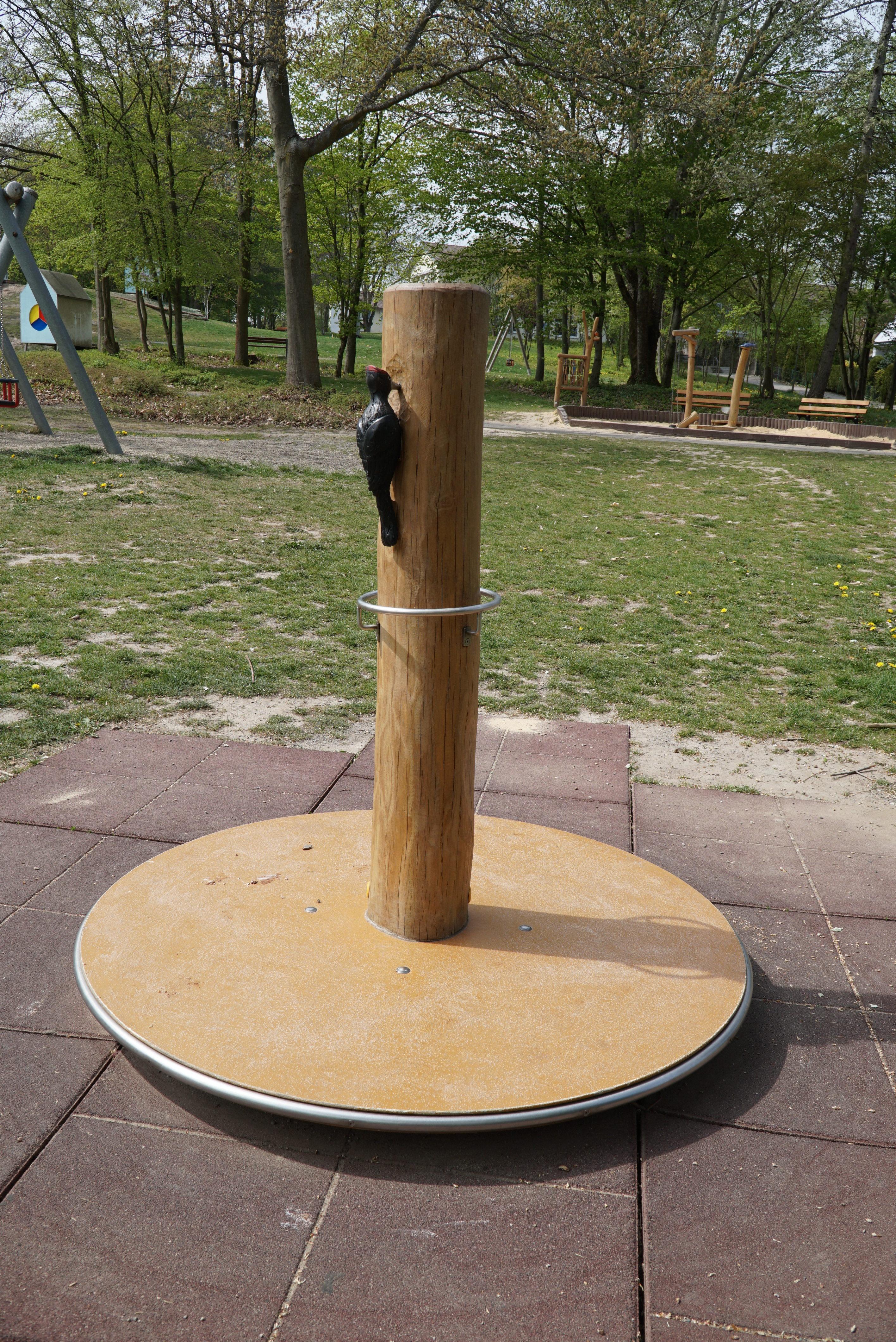 Drehkreisel am Spielplatz Wolkenkuckucksheim