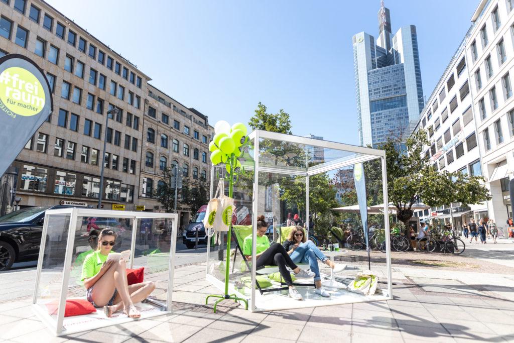 Würfel in Frankfurt