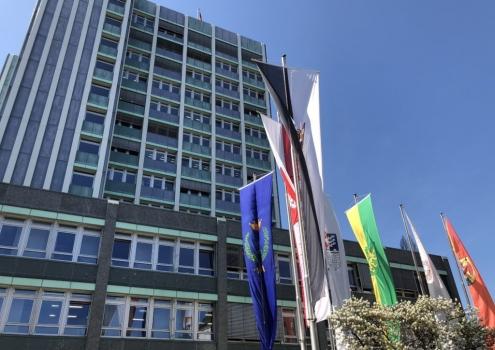 Das Bayreuther Rathaus. Foto: Redaktion